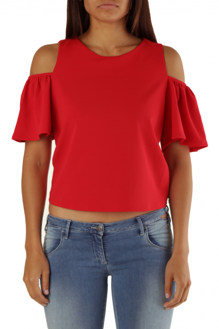 Blouse Met Woman FALUC Red