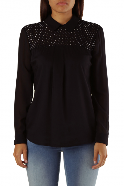Blouse Met Woman CHATILLON Black