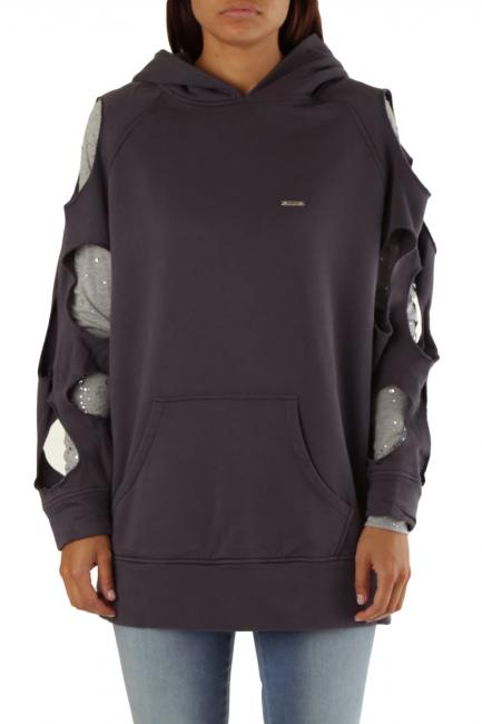 Sweatshirt Met Woman CESILE/T Grey