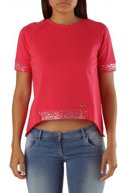 Sweatshirt Met Woman FANNYT Pink