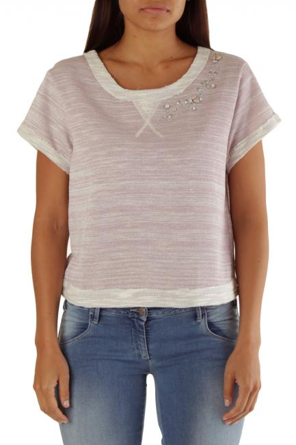 Sweatshirt Met Woman SCIROP Pink