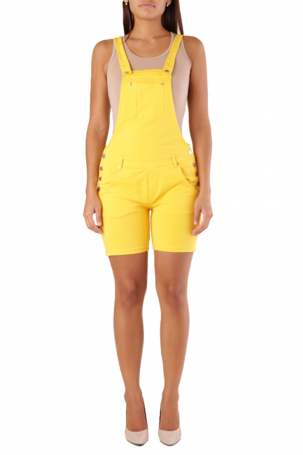 Overall Met Woman LEXYCORT/J Yellow