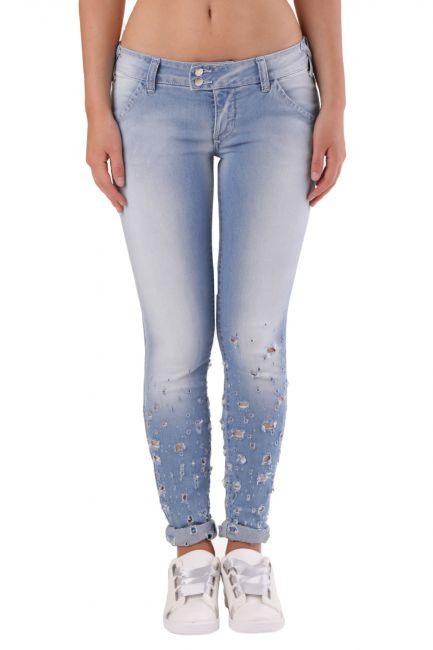 Jeans Met Woman H-K-FIT Blue