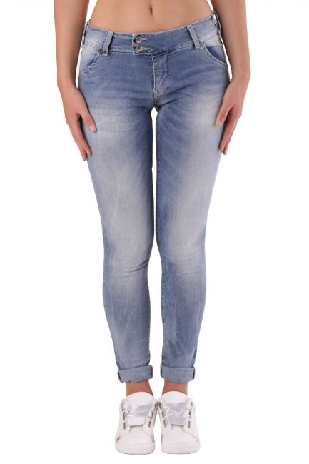 Jeans Met Woman X-H-K-FIT Blue