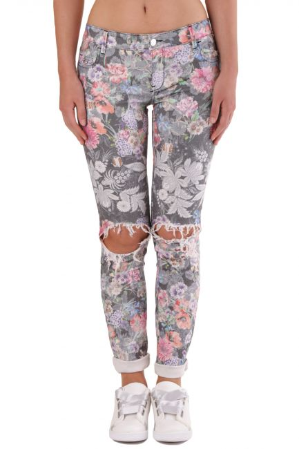 Trousers Met Woman JESSICA Multicolor