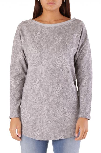 Sweatshirt Met Woman BAND Grey