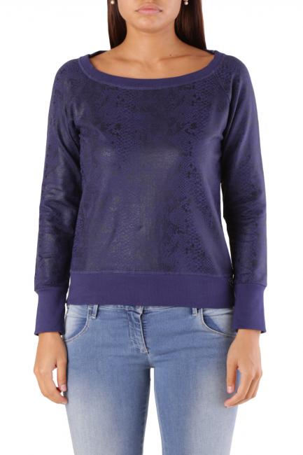 Sweatshirt Met Woman FEMKE/N Blue