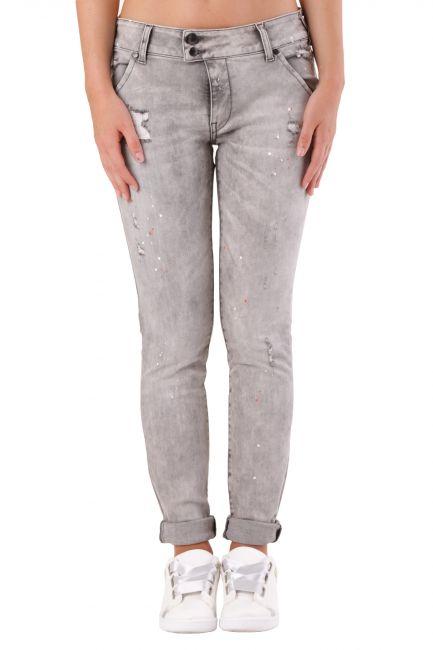 Jeans Met Donna Grigio X-H-K-FIT
