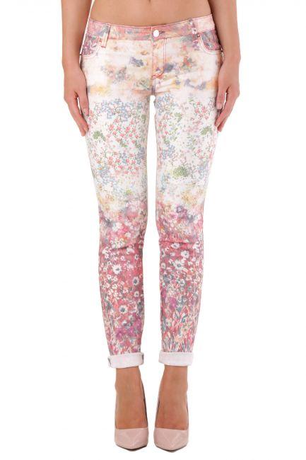 Pantalone Met Donna Multicolore JESSICA