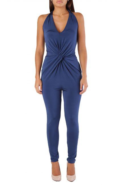 Overall Met Woman ELBAJUMP Blue