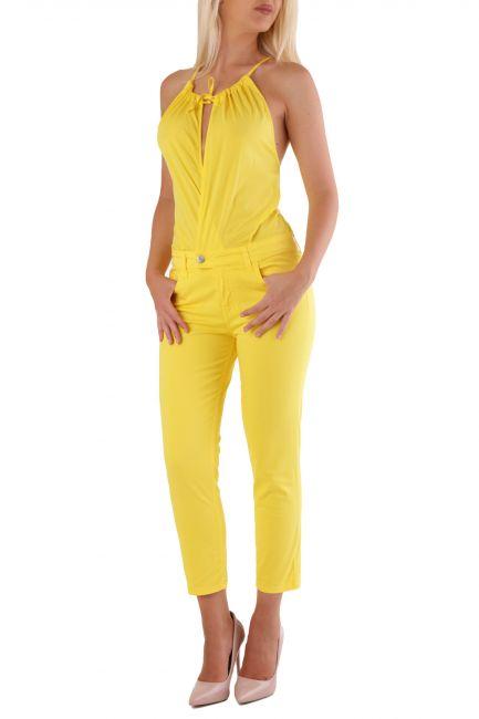 Overall Met Woman DONA Yellow