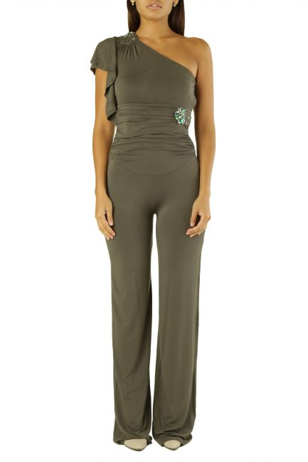 Overall Met Woman FRASUIT Army Green
