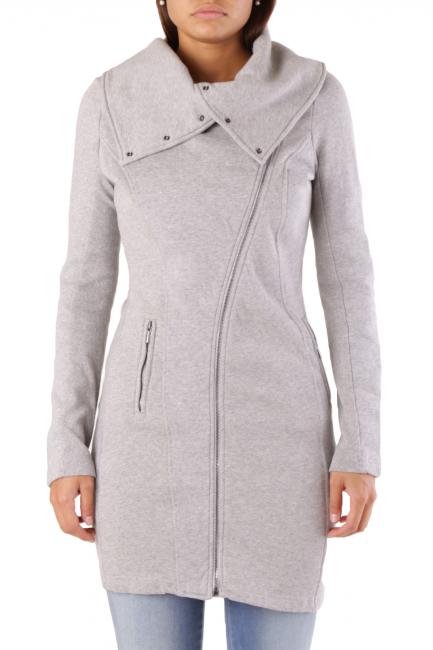 Fleece Jacket Met Woman ASTERVEST Grey