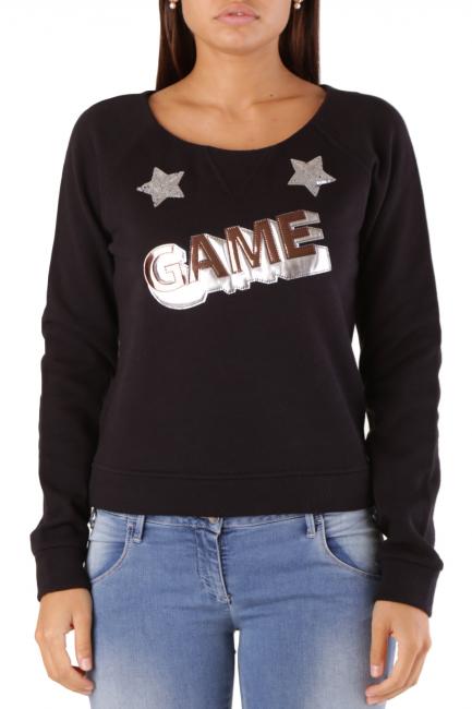 Sweatshirt Met Woman SNOO/C Black