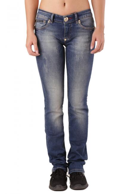 Jeans Donna Philipp Plein Blu CW590422