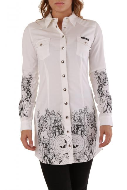Women's Shirt Philipp Plein White CD052993