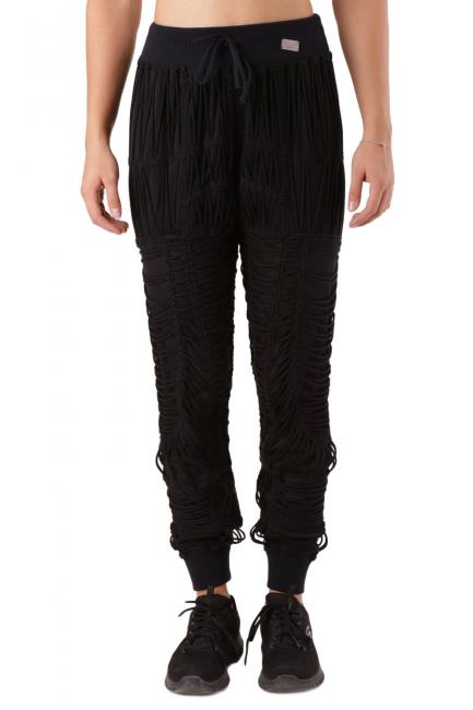 Pantalone Donna Philipp Plein Nero CW633008