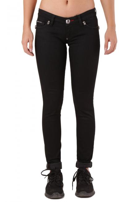 Pantalone Donna Philipp Plein Nero CW590412e1
