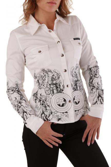 Camicia Donna Philipp Plein Bianco CD042992