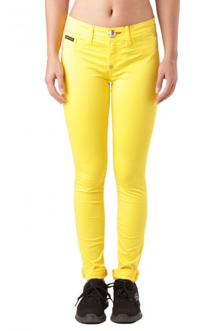 Pantalone Donna Philipp Plein Giallo CW572570