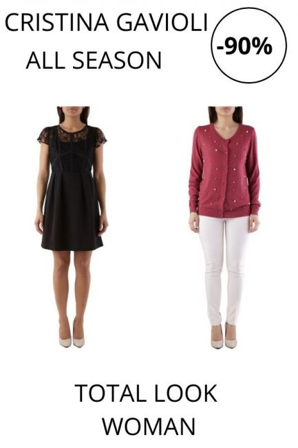 STOCK Cristina Gavioli Total Look woman