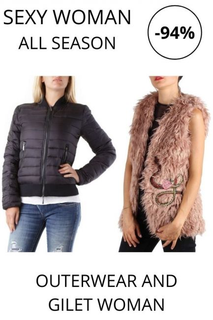 STOCK Sexy Woman Outerwear and Gilet woman