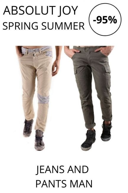 STOCK Absolut Joy Jeans And Pants man