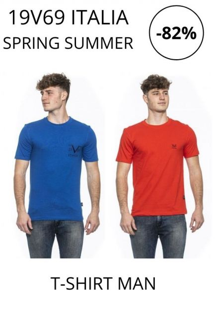 STOCK 19V69 Italia T-shirts man