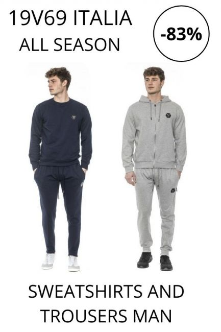 STOCK 19V69 Italia Sweatshirts and Trousers man