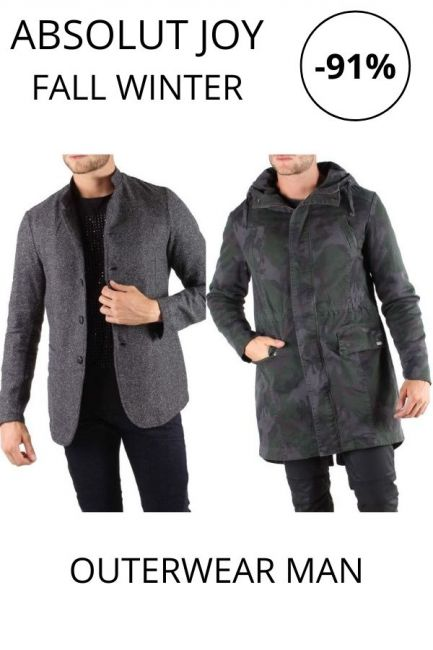 STOCK Absolut Joy Outerwear man